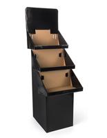 Corrugated Cardboard Bin Display