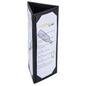 Three Sided Wine Menu Table Tent