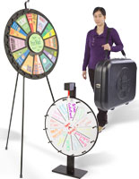 prize wheels for events