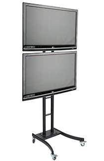 Tv Display Racks Single Amp Multiple Monitor Configurations