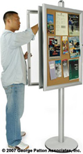 Free Standing Message Boards