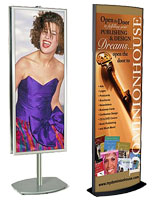 Large Metal Poster Stands