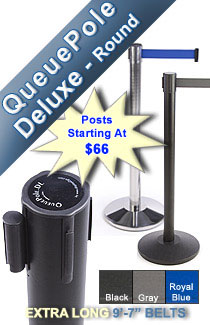 Deluxe Round Stanchions