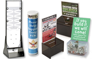 Fundraising Donation Boxes
