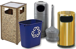 Ash/Trash Receptacles