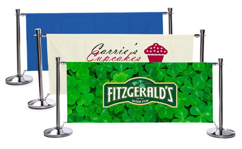 Print Stanchion Belts with Custom Logos