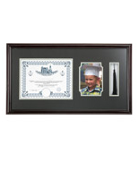 High School Diploma and Tassel Frame