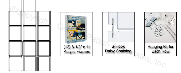 hanging signs ideal for a warehouse