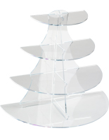 Boutique 4 Shelf Acrylic Stand
