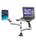 Monitor Arm with Laptop Stand