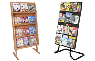 Lobby Signs Poster Stands Literature Displays And