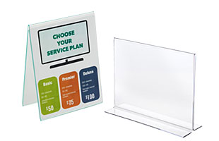 Counter Displays Countertop Baskets Sign Holders