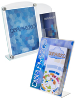 Sign Frames w/ Brochure Pocket