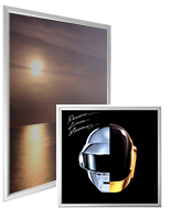 enclosed poster cases