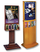 Wooden Brochure Stands