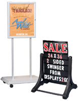 Outdoor Poster Stands