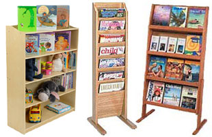 Wood Magazine Stands