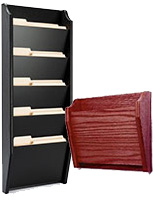 Wood File Holder Racks