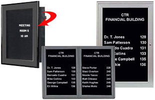 Announcement Boards Functional Display Fixtures For Messages