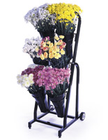 Floral Display Rack