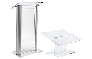 Acrylic Lecterns & Podiums