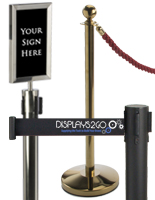 Stanchions Configurations & Styles