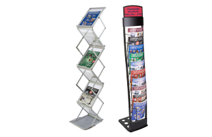 Portable Literature Racks