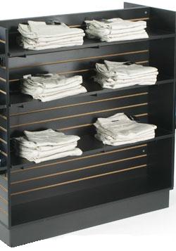 Slatwall Display Panels Kiosks Shelves Faceouts Amp Hooks
