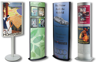 display stands pictures