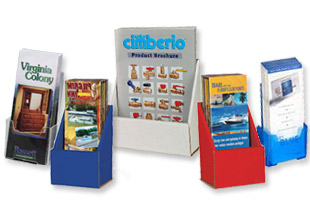 Brochure Racks | Flyer Holder Stands | Floor & Countertop