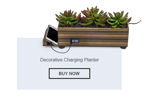 Decorative Plant Charging Station