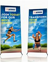 X-frame banners in multiple sizes.