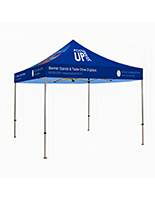 Replacement canopy for tent with printed graphics