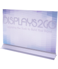 17 x 11 Vertical Sign Holder is A Frameless Design