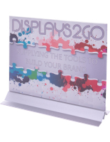 11 x 8.5 Vertical Sign Holder with Adhesive Bottom