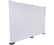 Portable 10' Banner Backdrop Stand