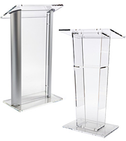 Acrylic Podiums and Lecterns