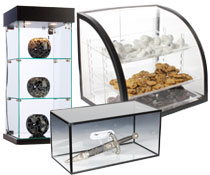 Acrylic Countertop Displays
