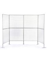 Iron Wire Art Grid Panels