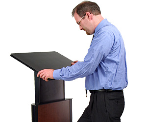 Height-Adjustable Lecterns