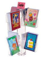 countertop greeting card displays