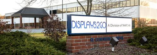 Displays2go Headquarters in Fall River, MA