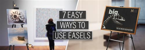 Clever Ways to Use Easels