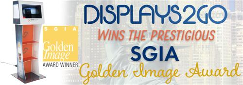 Displays2go wins SGIA Golden Image Award