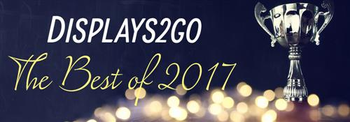 Displays2go's top 17 products in 2017