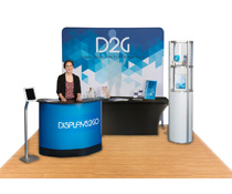 Complete Exhibit Package with Custom Print Options