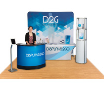 Custom Display Booth with 6 Fixtures