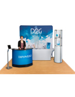 All-in-One Complete Display Booth Kit