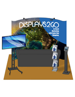 10 x 10 Trade Show Booth Kit, Steel