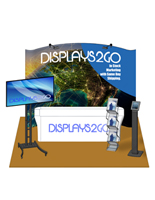 10 x 10 Exhibit Booth Kit, Steel